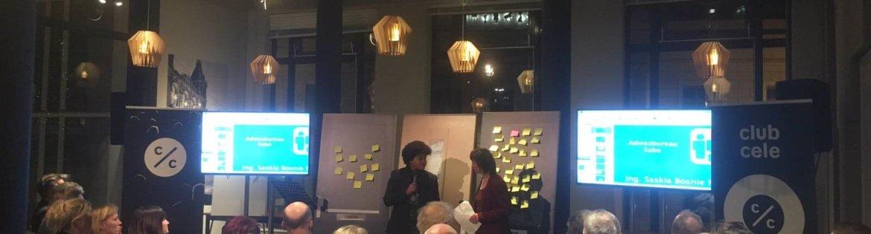 """Saskia Bosnie gastspreker tijdens een inspirerende bijenkomst van Delta Wonen op 30 januari jl.! Wederkerigheid en zeggenschap de toekomst voor 'tevreden wonen""""."""