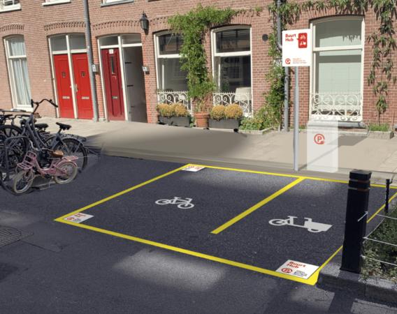 Buurthub voor Amsterdamse stadsdelen